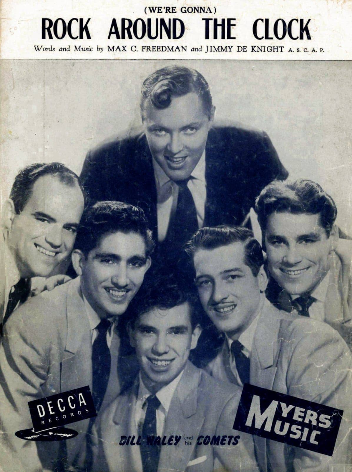 Bill Haley and the Comets Rock Around the Clock music
