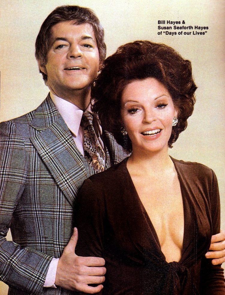 Bill Hayes and Susan Seaforth Hayes of Days of our Lives - 1970s soap