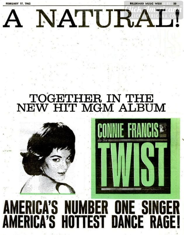 Connie Francis - Twist