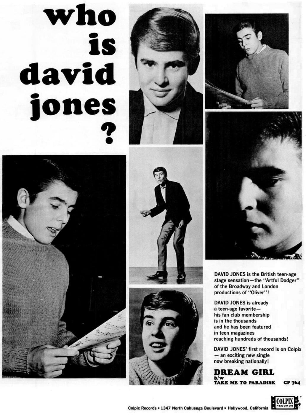 Billboard Feb 20, 1965 Davy Jones