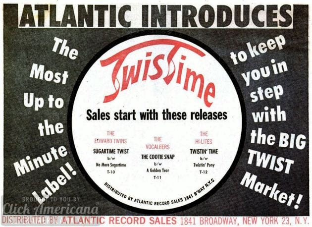 Twist Time records