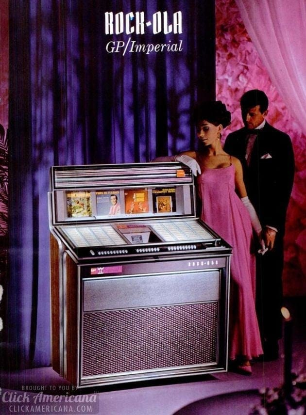Stupendous! Rock-Ola jukeboxes for 1966