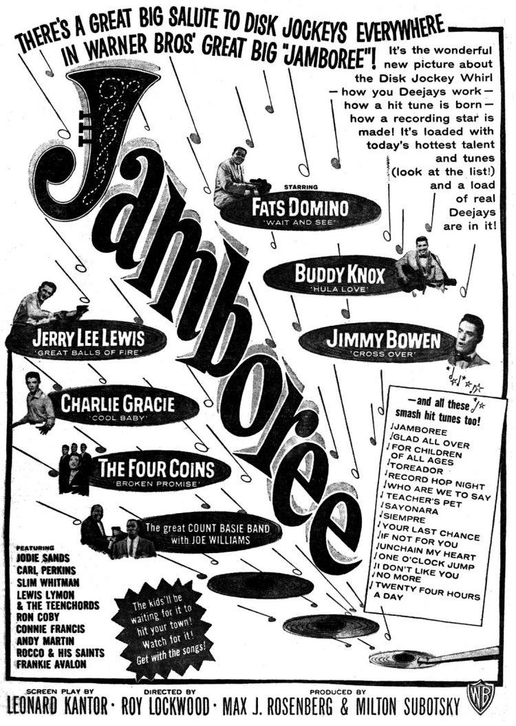 Billboard Nov 11, 1957 Jamboree