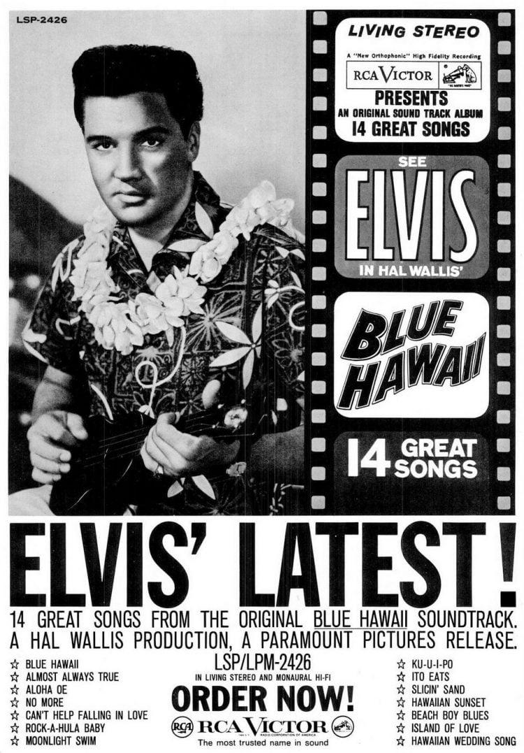 Billboard Oct 9, 1961 Elvis