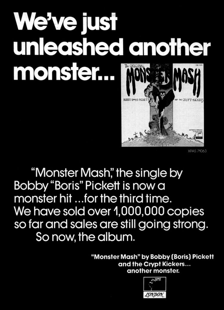 Billboard Sep 8, 1973 Monster Mash