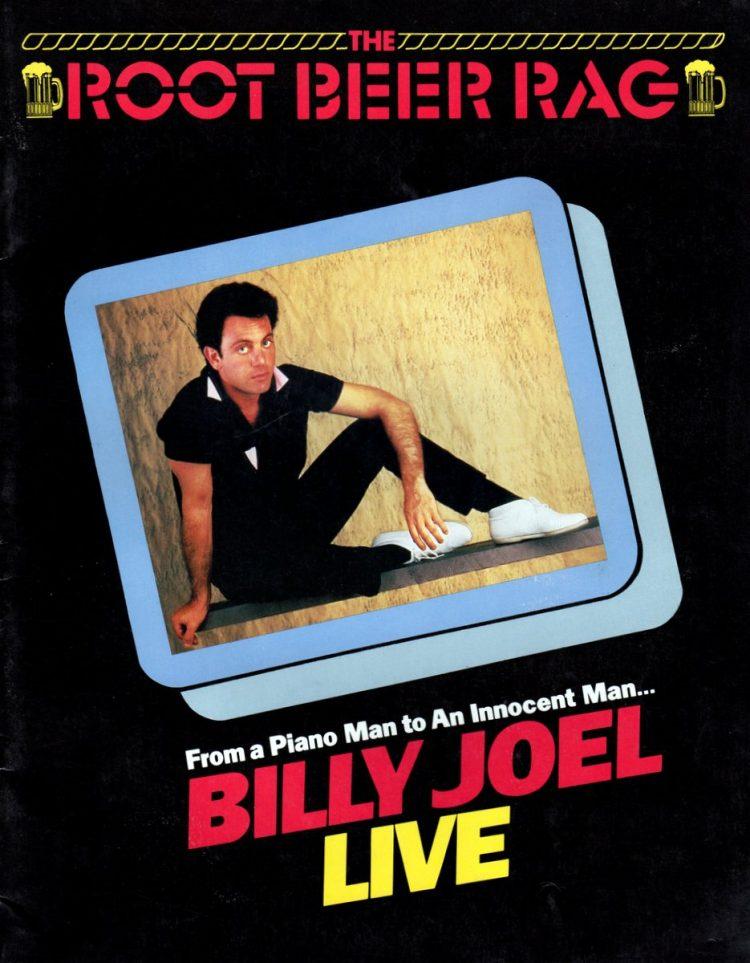 Billy Joel vintage tour program 1984 (1)