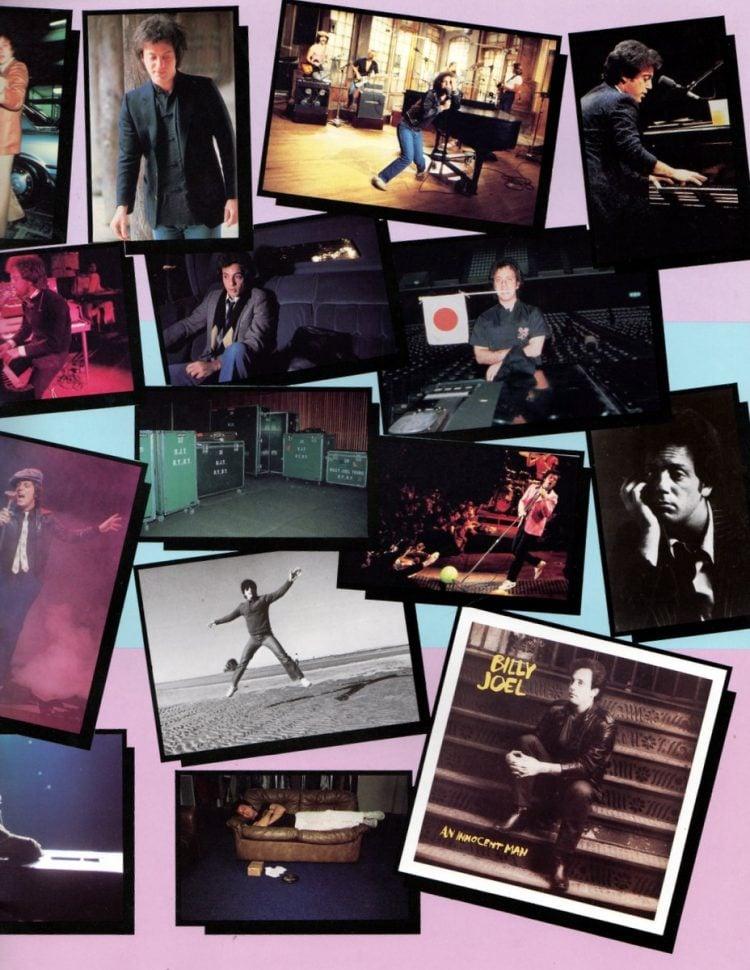 Billy Joel vintage tour program 1984 (13)