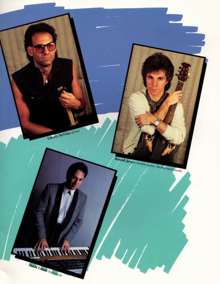 Billy Joel vintage tour program 1984 (17)