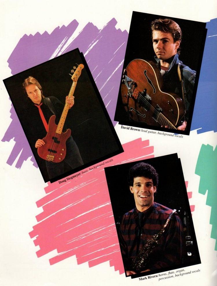 Billy Joel vintage tour program 1984 (18)