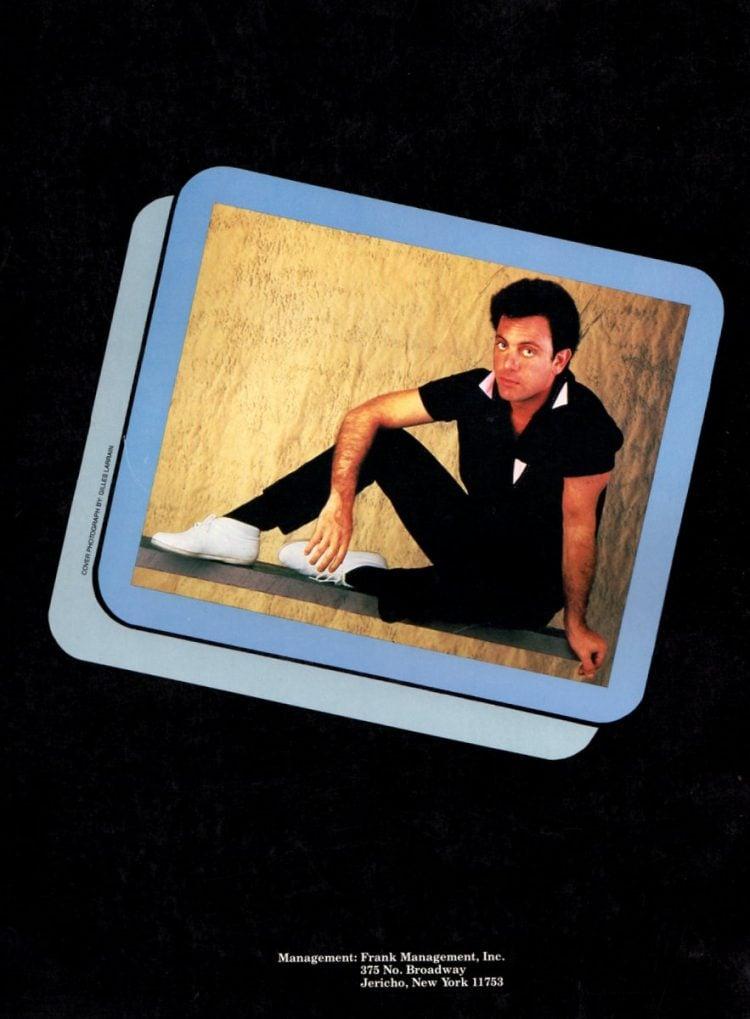 Billy Joel vintage tour program 1984 (2)
