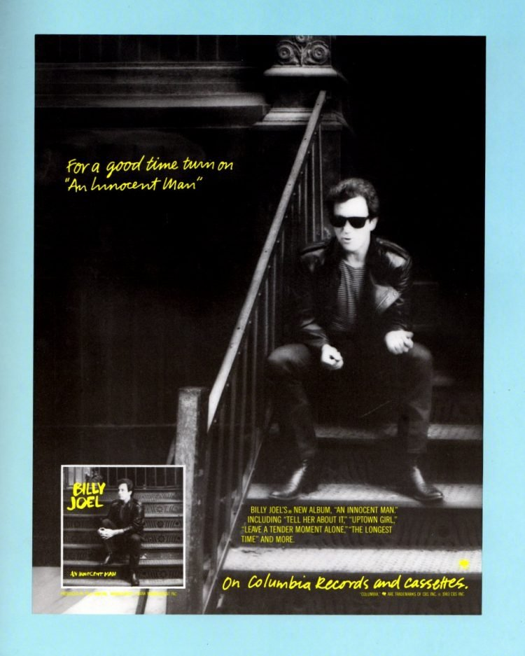 Billy Joel vintage tour program 1984 (5)
