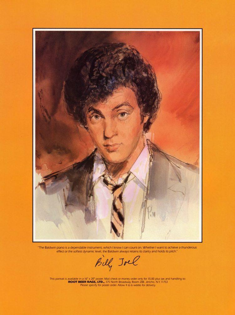 Billy Joel vintage tour program 1984 (6)