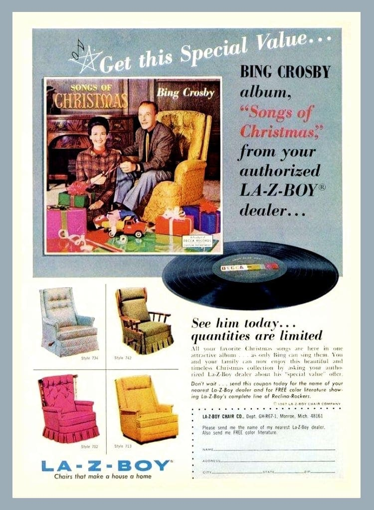 Bing Crosby Songs of Christmas album 1967
