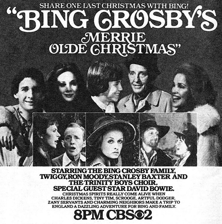 Bing Crosby's Merrie Olde Christmas 1977 TV special