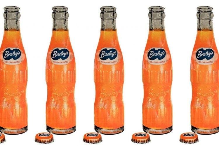 Bireley's orange soft drinks (1950s)