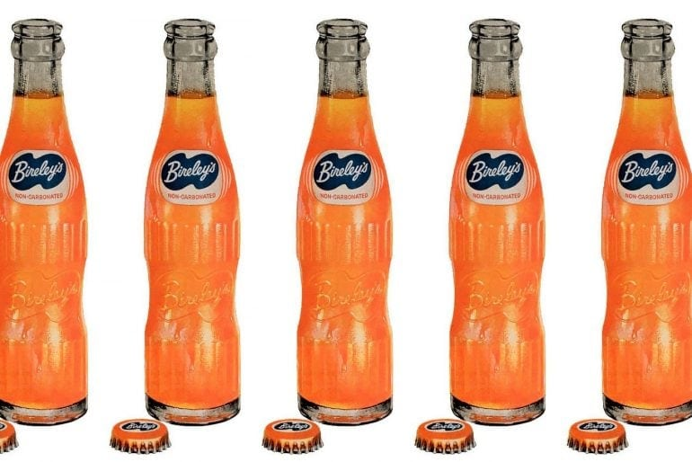 Bireley's orange soft drinks (1950s)