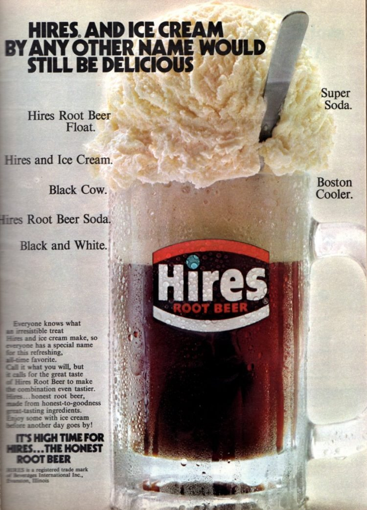Black Cow, Boston Cooler Hires Root Beer Floats (1972)