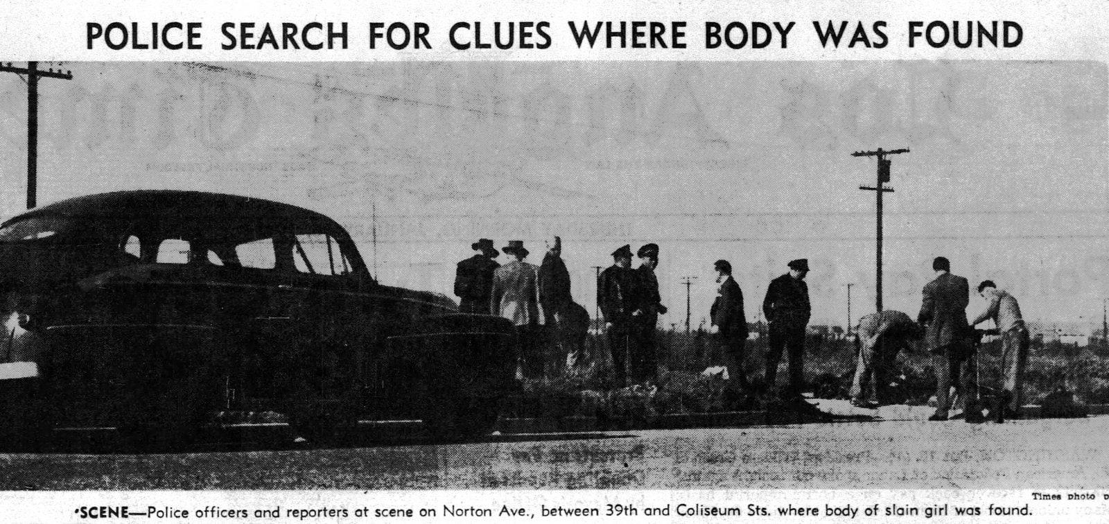 Black Dahlia news report - January 16 1947