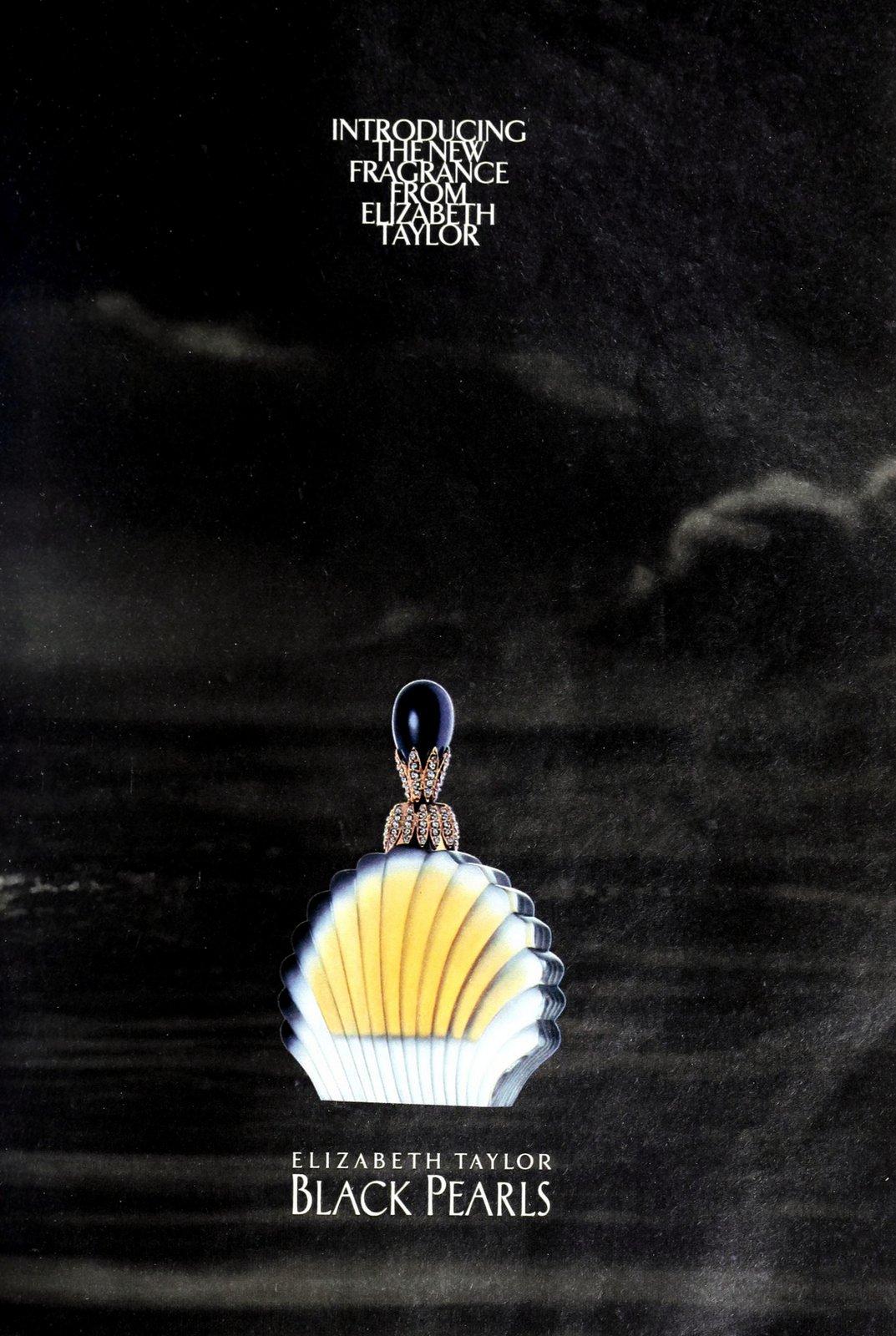Black Pearls vintage fragrance from Elizabeth Taylor (1995) at ClickAmericana.com