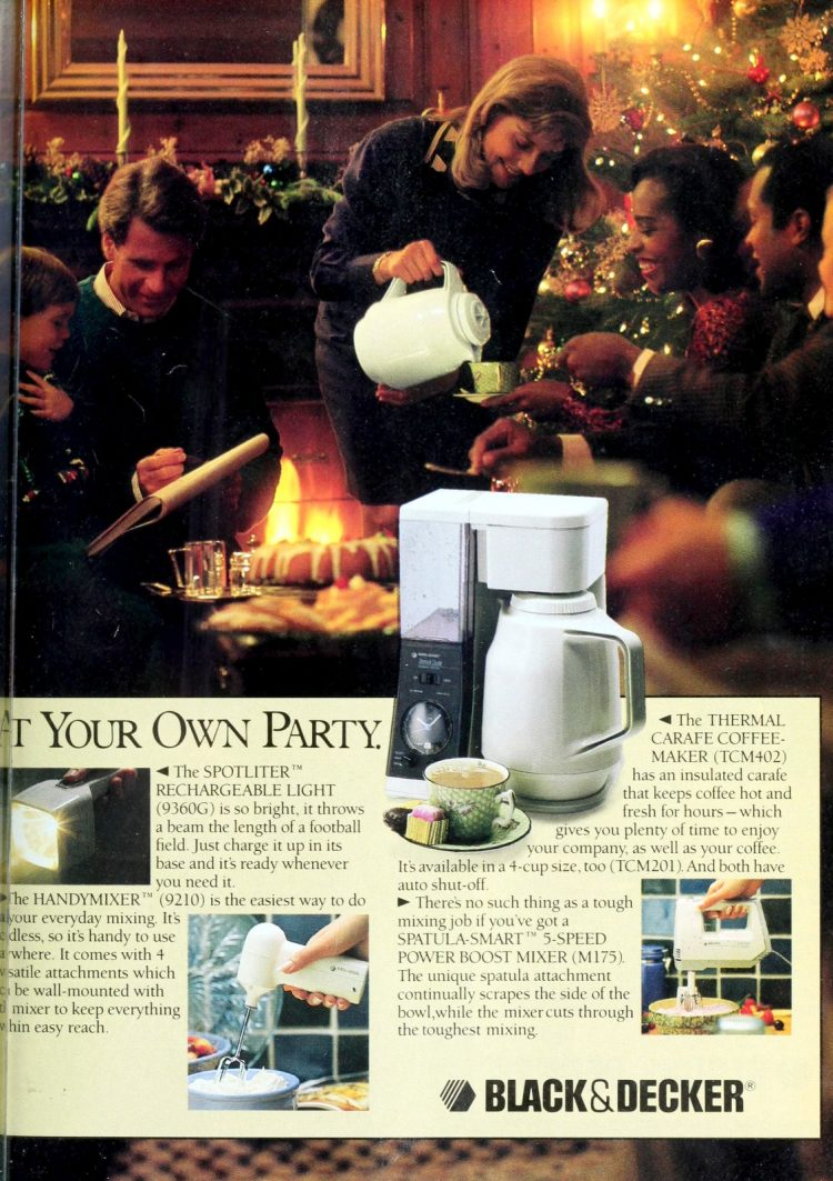 Black and Decker coffee maker - Thermal Carafe (1991)