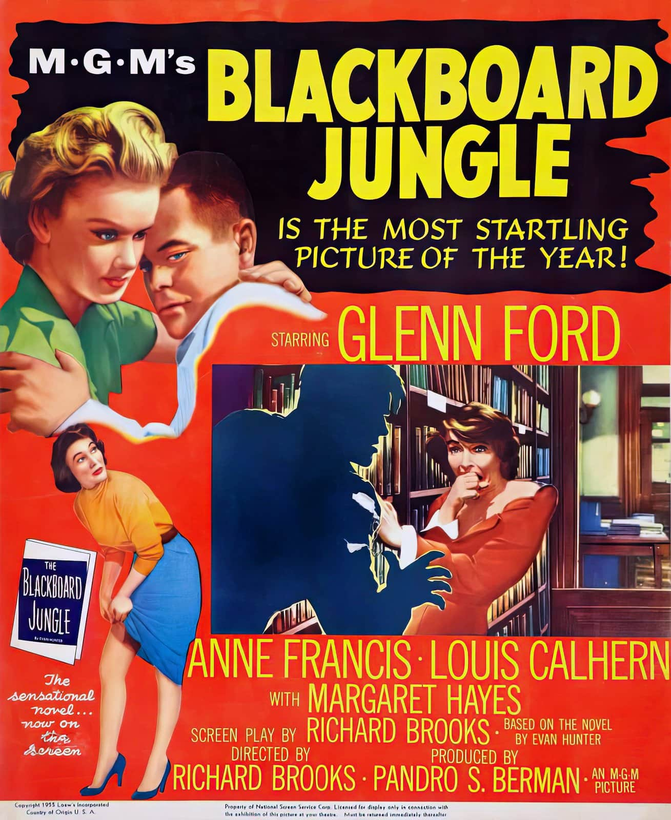Blackboard Jungle - Vintage 1950s movie