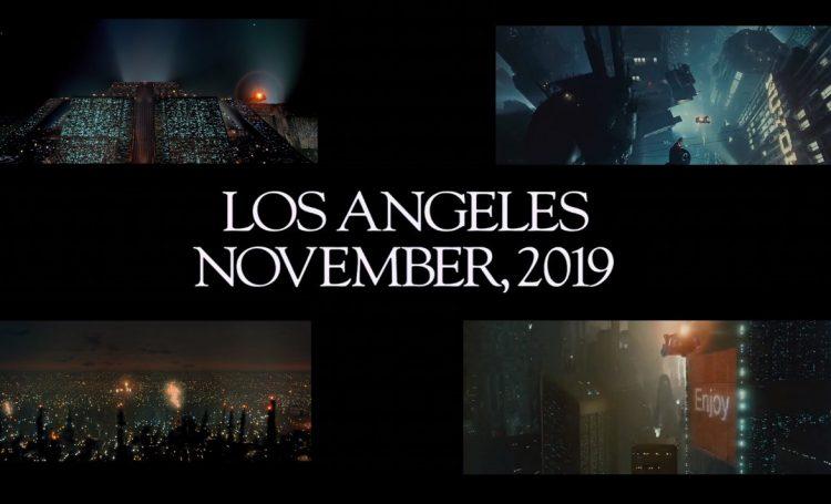 Blade Runner movie - Los Angeles - November 2019