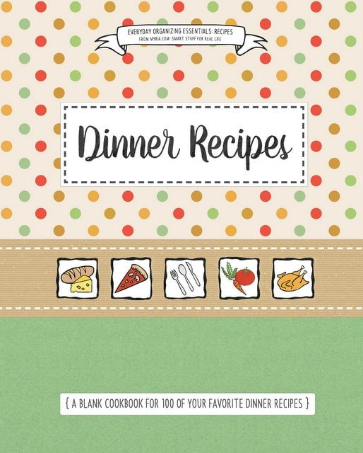 Blank cookbook covers (2)