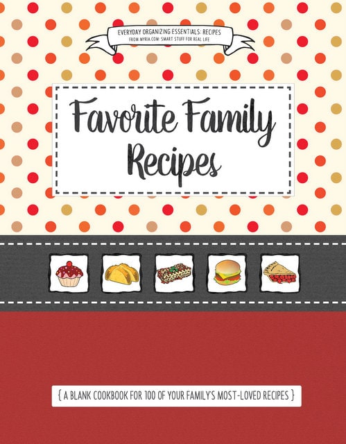 Blank cookbook covers (3)