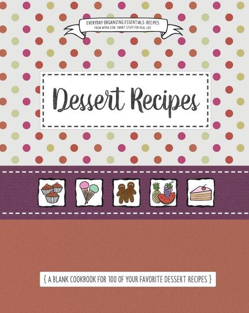 Blank cookbook covers (5)
