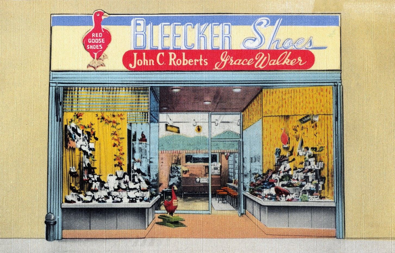 Bleecker Shoes - New York (1940s)