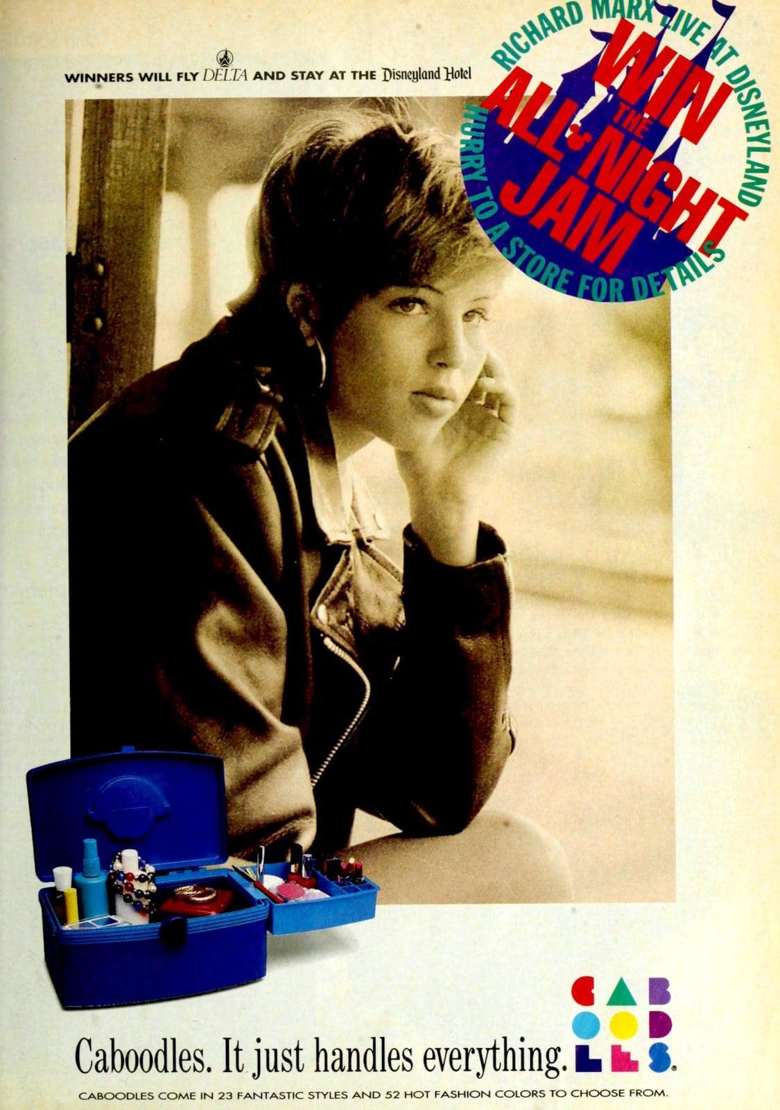 Blue Caboodle beauty organizer (1992)