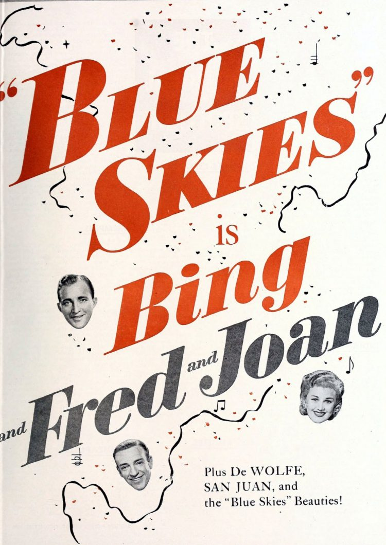 Blue Skies - 1946 classic musical movie with Fred Astaire and Bing Crosby (1)