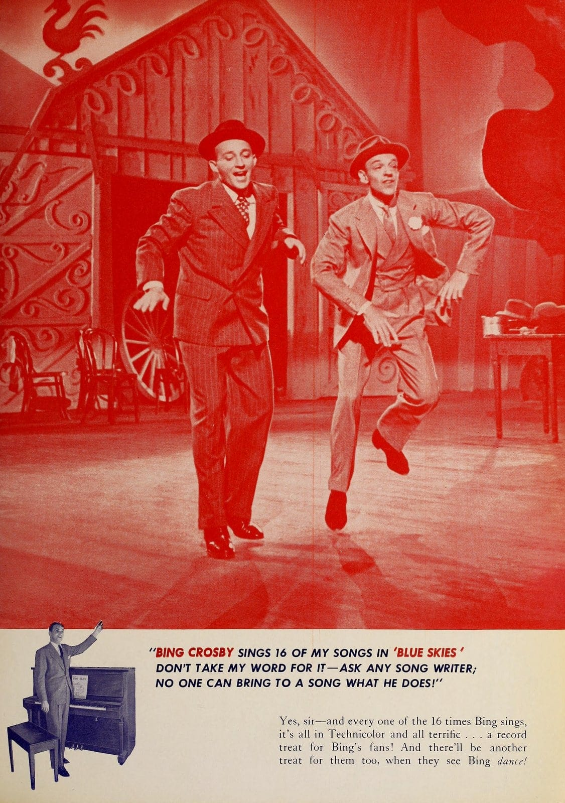 Blue Skies - 1946 classic musical movie with Fred Astaire and Bing Crosby (4)