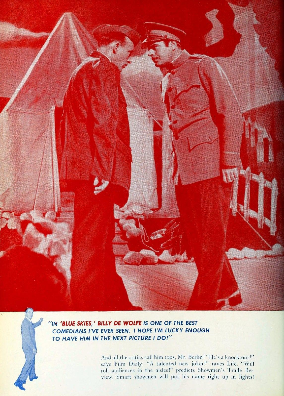 Irving Berlin musical 'Blue Skies' in 1946