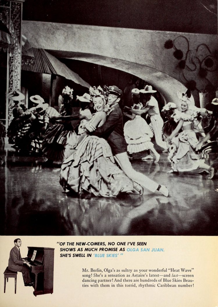 Blue Skies - 1946 classic musical movie with Fred Astaire and Bing Crosby (8)