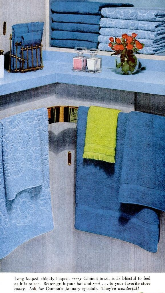 Blue towels and other magic colors to mix match