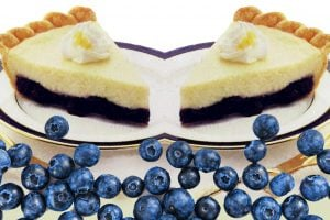 Blueberry cheesecake pie (1991)