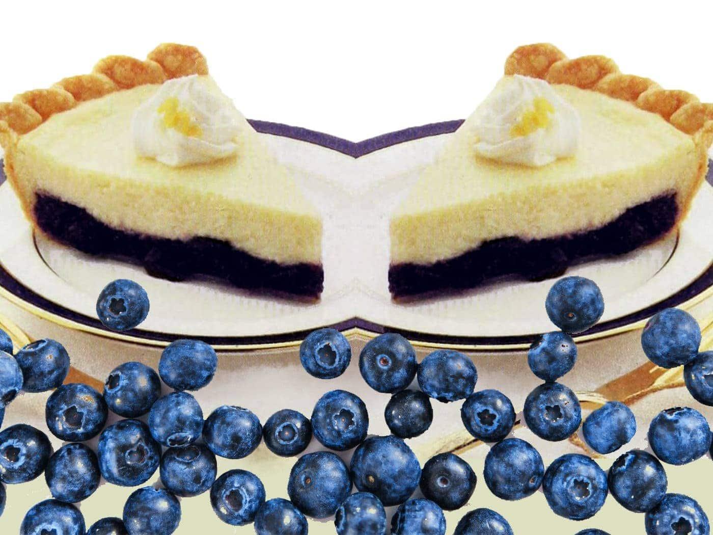 Blueberry cheesecake pie (1991)