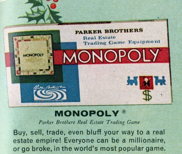 Board games from the 60s - Monopoly