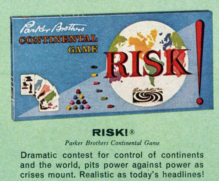 Board games from the 60s - Risk