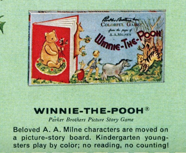 Board games from the 60s - Winnie the Pooh