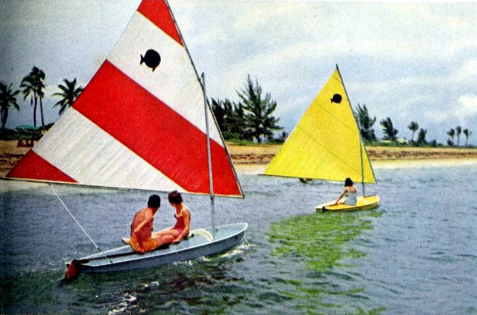 Boating in old Florida (1961)
