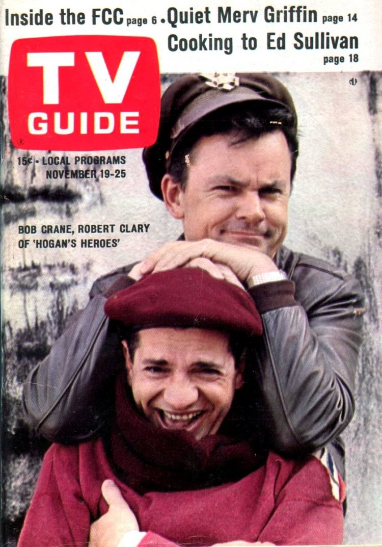 Bob Crane TV Guide cover 1966