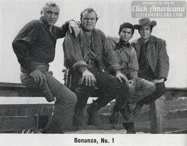 Bonanza TV show 1964