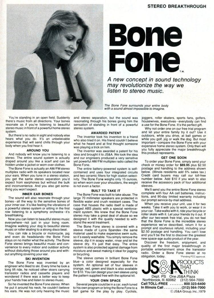 Bone Fone 1980
