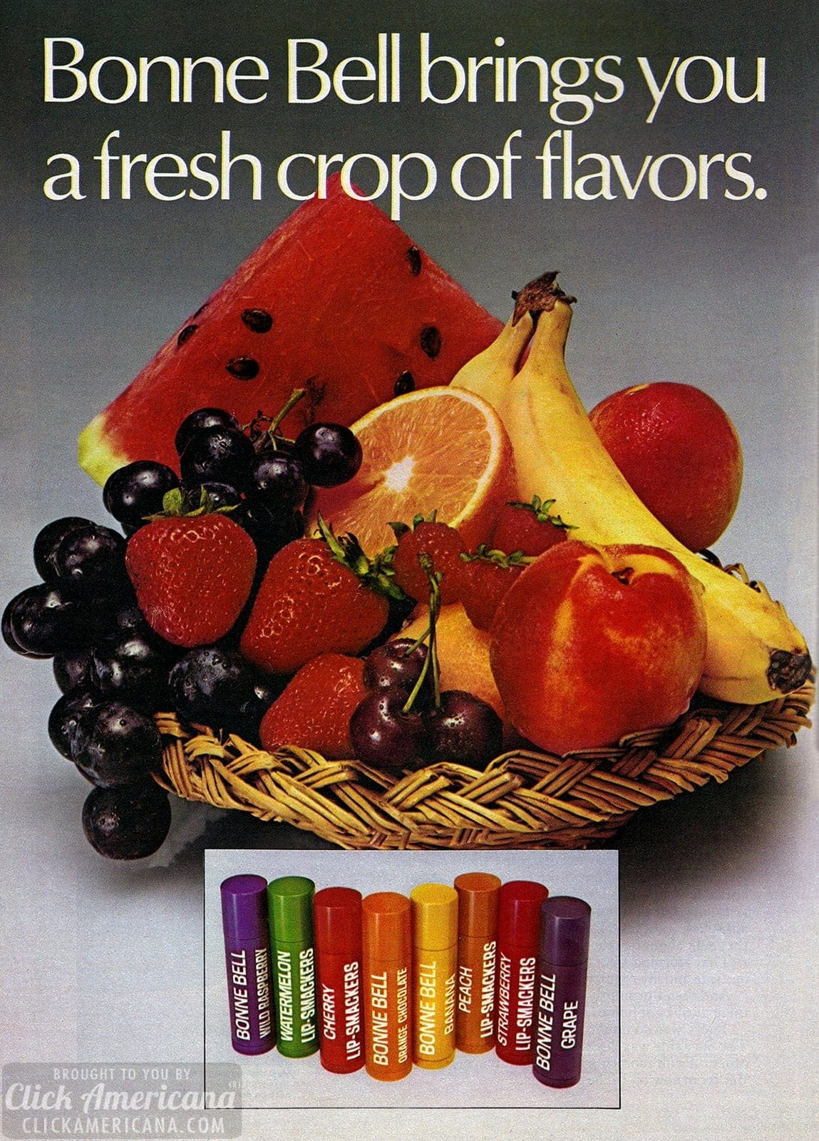 Bonne Bell fresh crop of flavors - vintage Lip Smackers