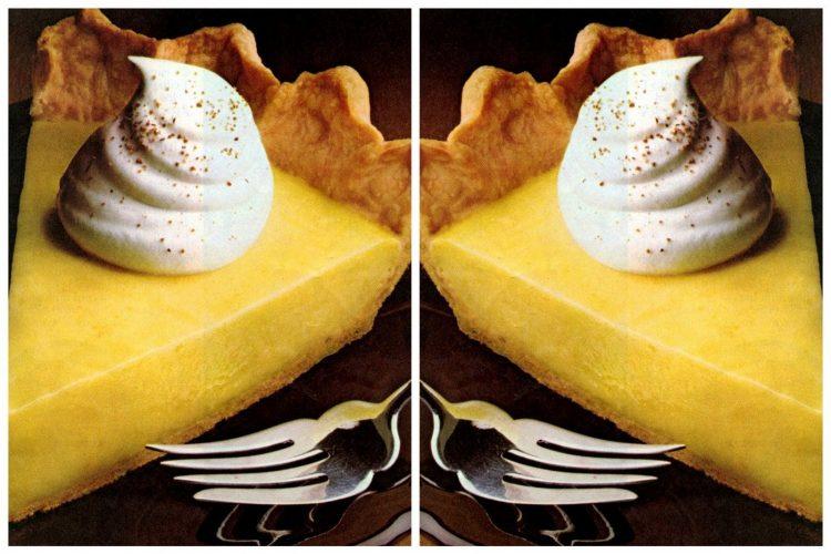 Borden holiday eggnog pie