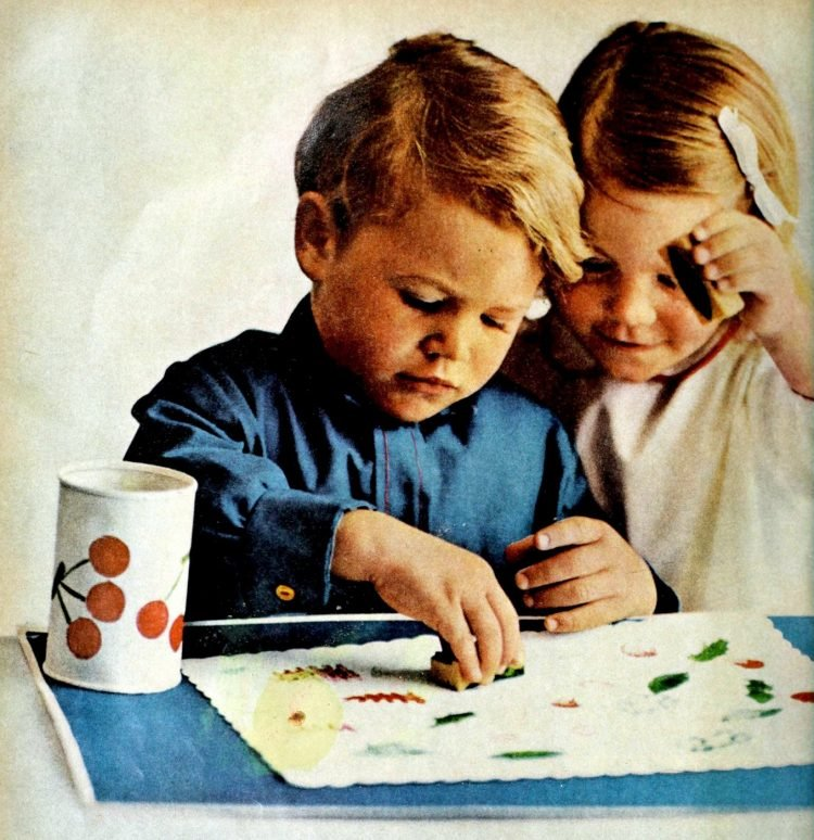 Bored kids Here's what parents in the 60s did to keep little ones busy
