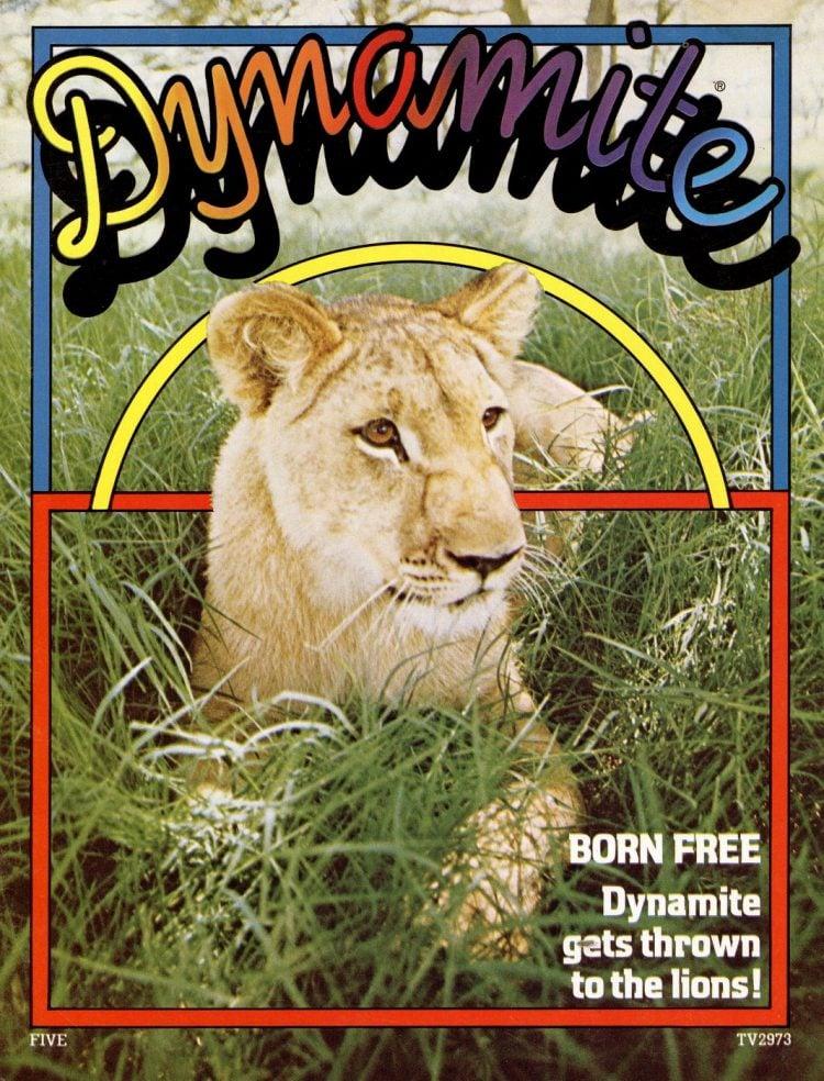 Born Free - Nov 1974 Dynamite magazine