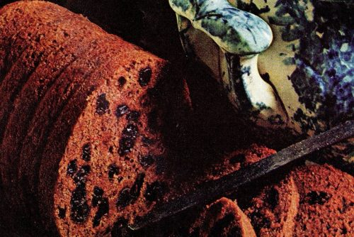 Boston brown bread - vintage recipe